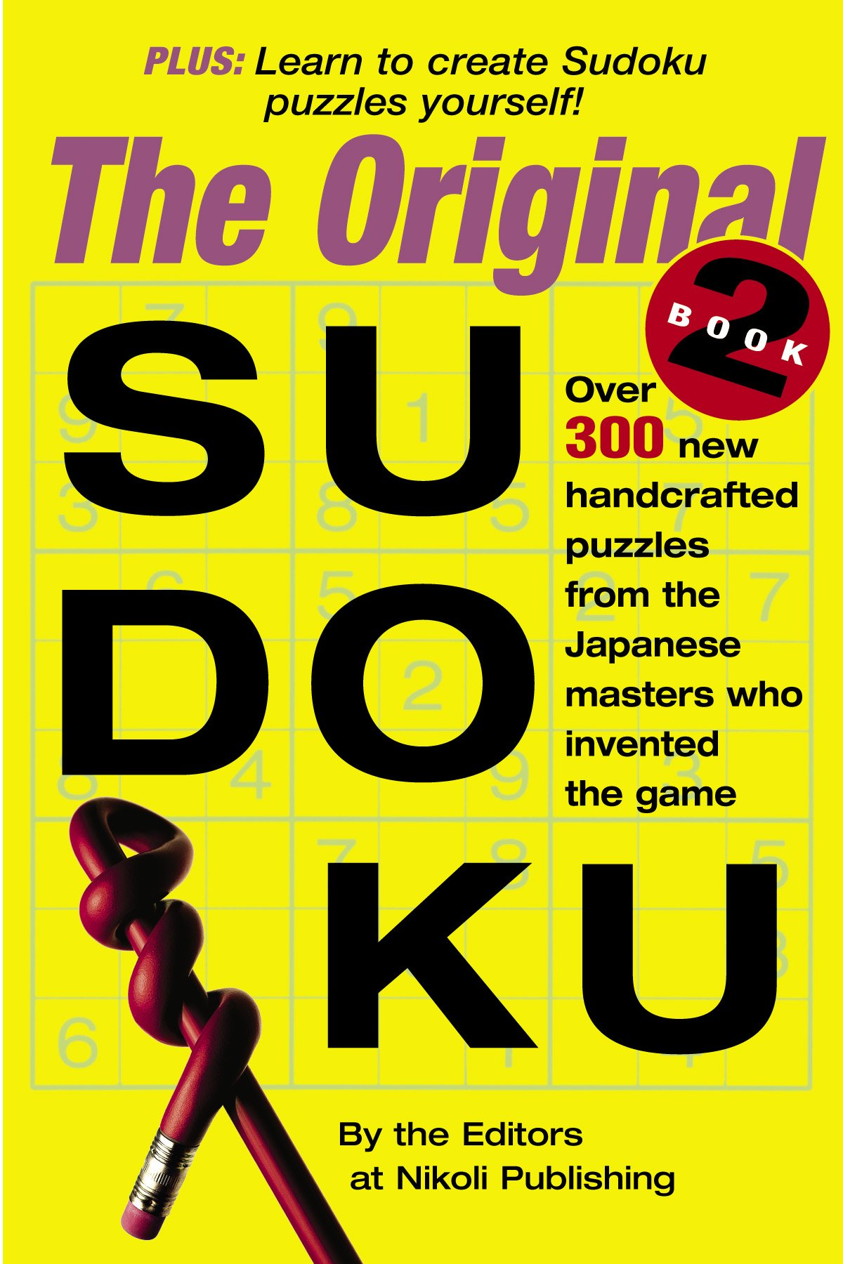 Read Online The Original Sudoku Book 2 (Bk. 2) PDF