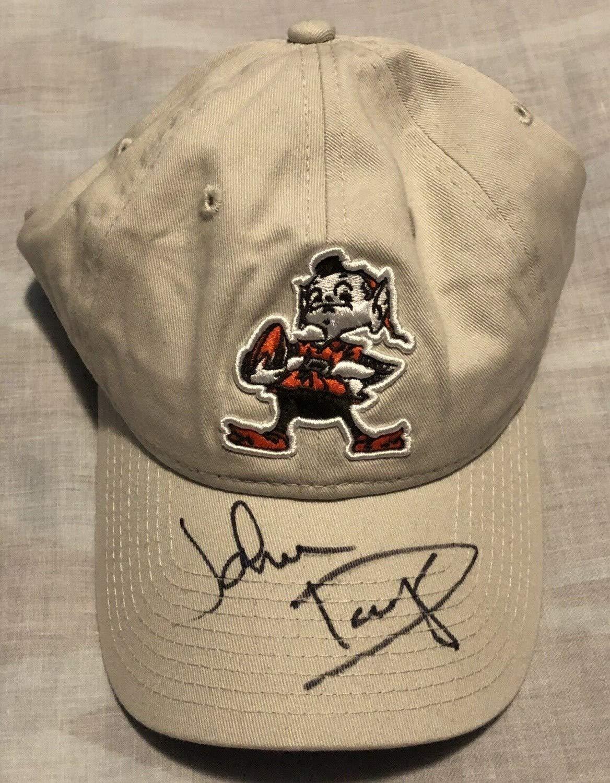 df62a5f9 John Dorsey Autographed Signed Cleveland Browns Elf Hat Buddy BoyPSA ...