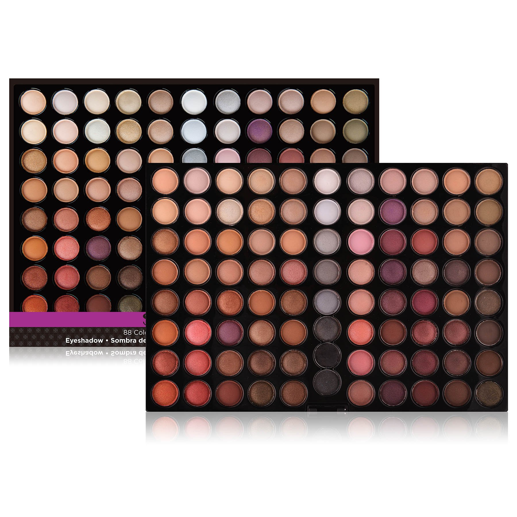 SHANY Natural Fusion Eyeshadow Palette (88 Color Eyeshadow Palette, Nude Palette), 2.15 Ounce by SHANY Cosmetics (Image #2)