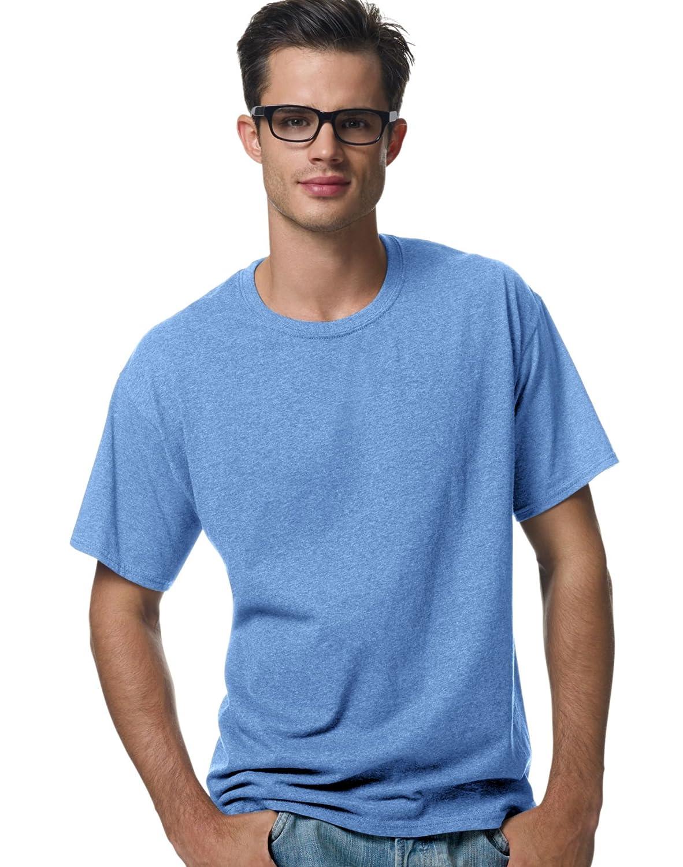 Hanes ComfortBlend EcoSmart Crewneck Mens T-Shirt/_Carolina Blue/_XL
