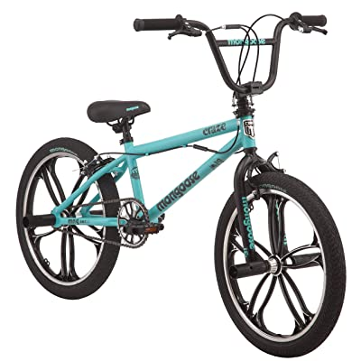 "Mongoose 20"" Craze Girls' Freestyle Bike, Mint : Sports & Outdoors"