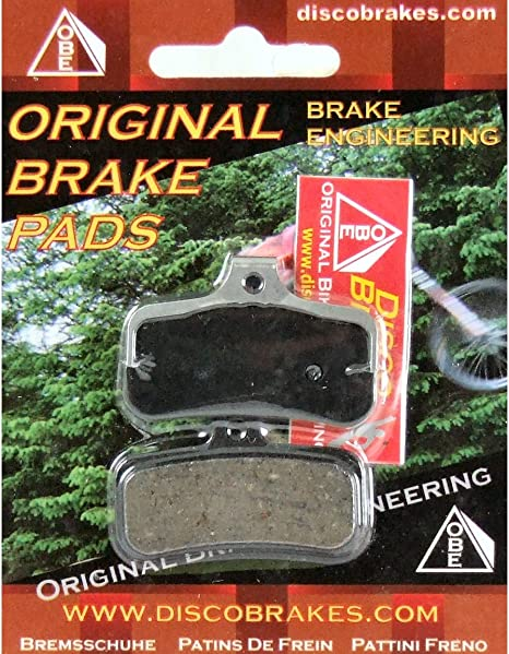 Shimano D02S Metal Disc Bicycle Brake Pads /& Spring Saint BR//M810 Zee BR//