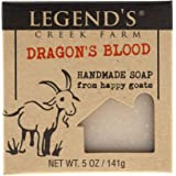 Dragon's Blood Goat Milk Soap - 5 Oz Handmade Bar - Great For Sensitive Skin