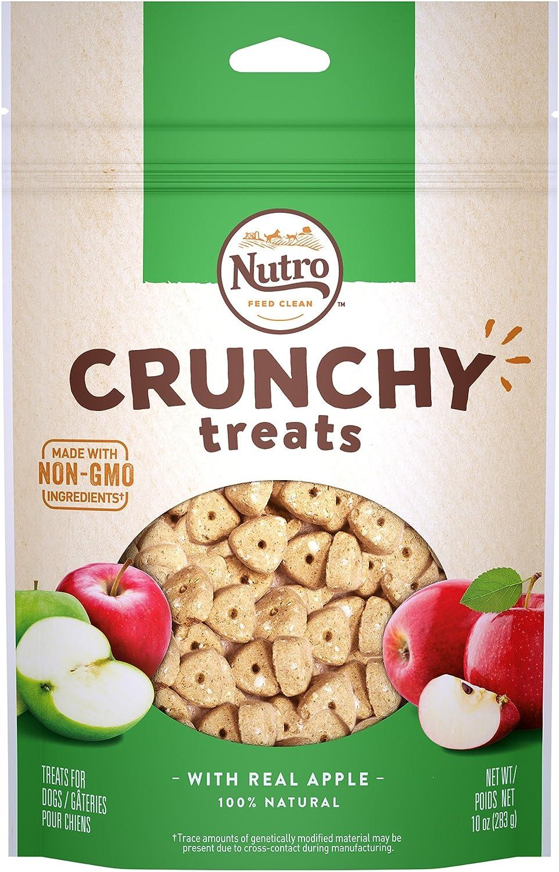 Nutro Natural Choice Crunchy Treats With Real Apples Dog Treats