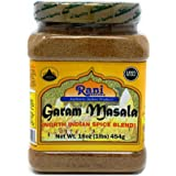 Rani Garam Masala Indian 11 Spice Blend 1lb (16oz) 454g ~ Salt Free | All Natural | Vegan | Gluten Friendly | NON-GMO | India