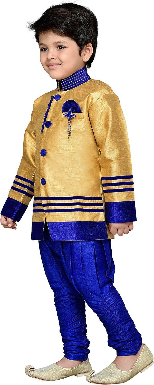 AJ Dezines Jungen indischen ethnischen Sherwani Anzug Set