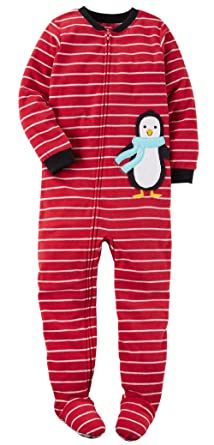 Amazon.com: Carter's Big-boys' 1 Pc Micro Fleece Footed Blanket ...