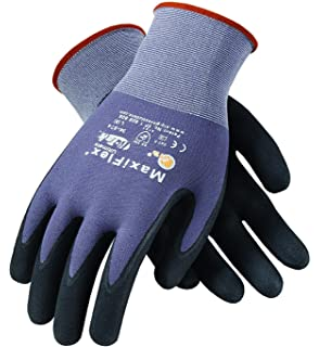 Lowes Work Gloves >> Maxiflex 34 874 Ultimate Gloves Large 12 Piece Work Gloves