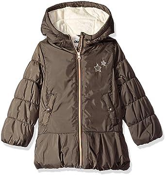 4f507d1b2965 Amazon.com  OshKosh B Gosh Girls  Hooded Peplum Jacket Coat  Clothing