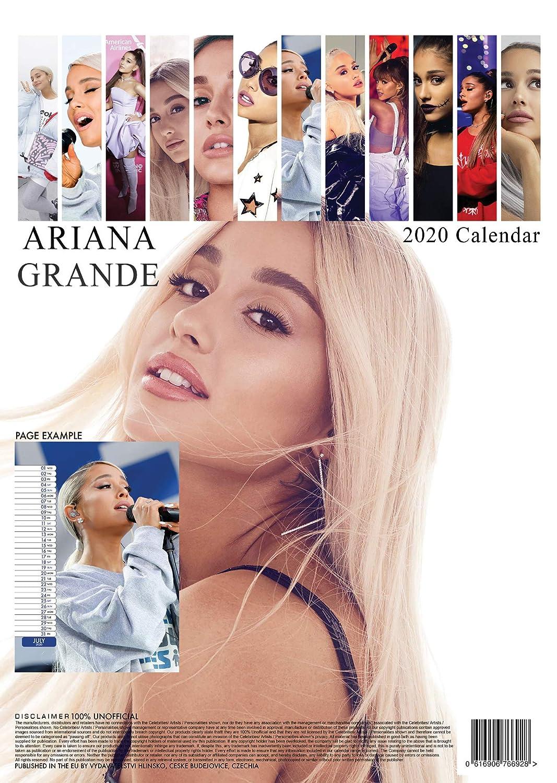 Calendario para el 2018 y llavero con diseño de Ariana ...