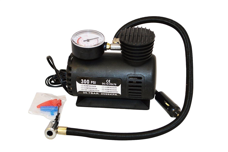 12v Fast Air Compressor Pressure Checking Gauge 300psi Tyre Kompressor Car Van Bikes Toys Sports Etc Free Delivery Kitchen Home