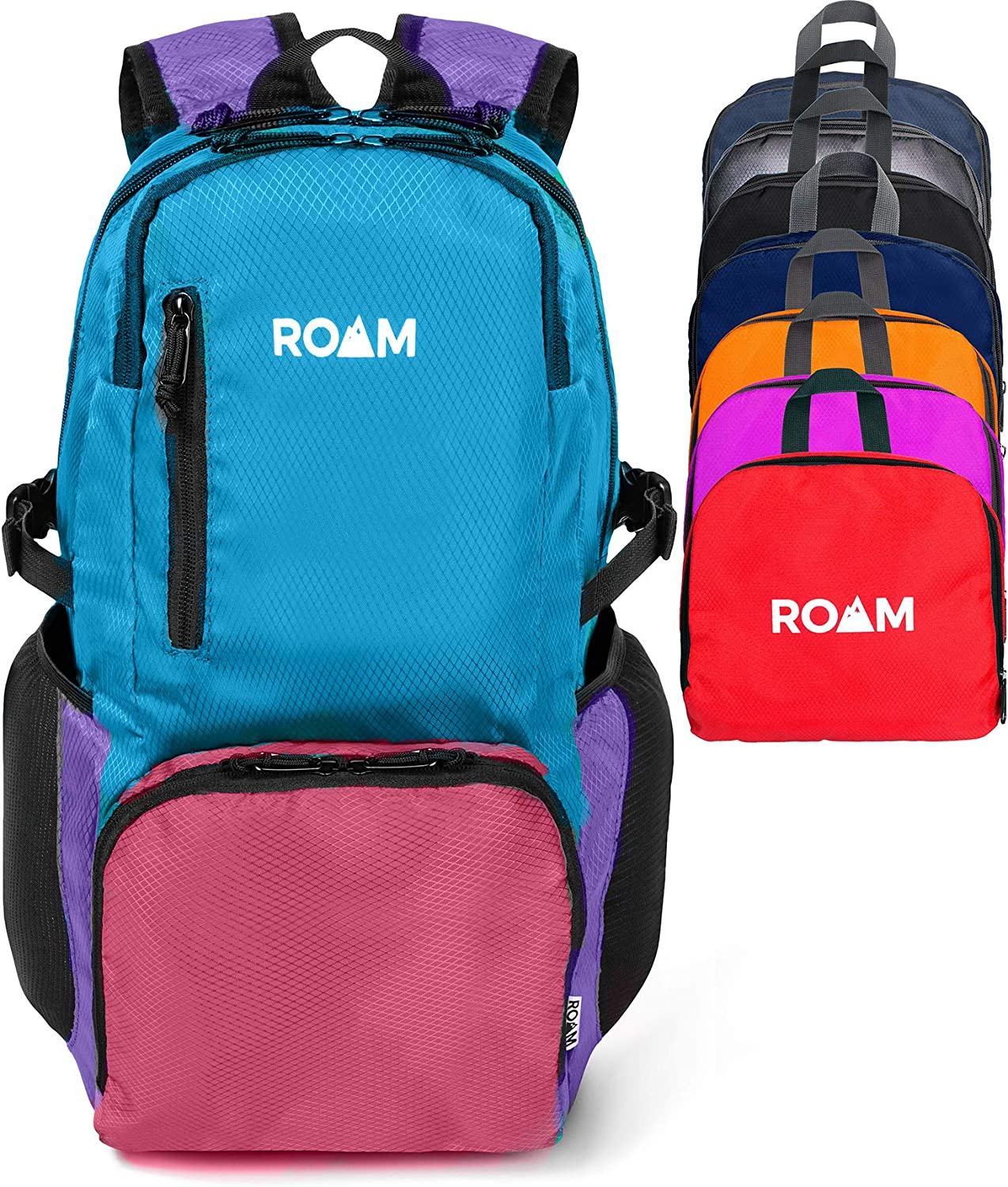 Roam Lightweight Packable Backpack Small Water Resistant Travel Hiking Daypack