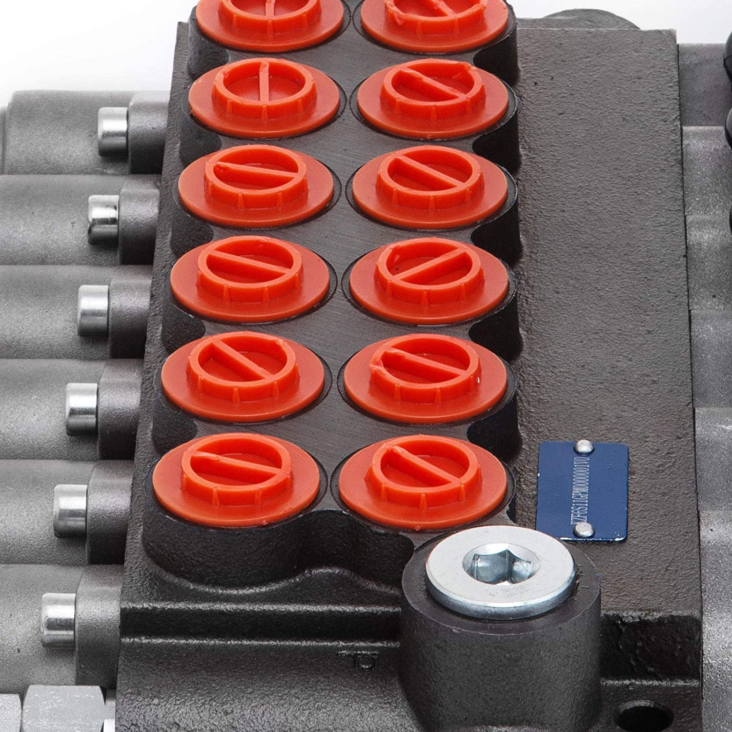 Mophorn 6 Spool Hydraulic Directional Control Valve 11gpm Double Acting Cylinder Spool