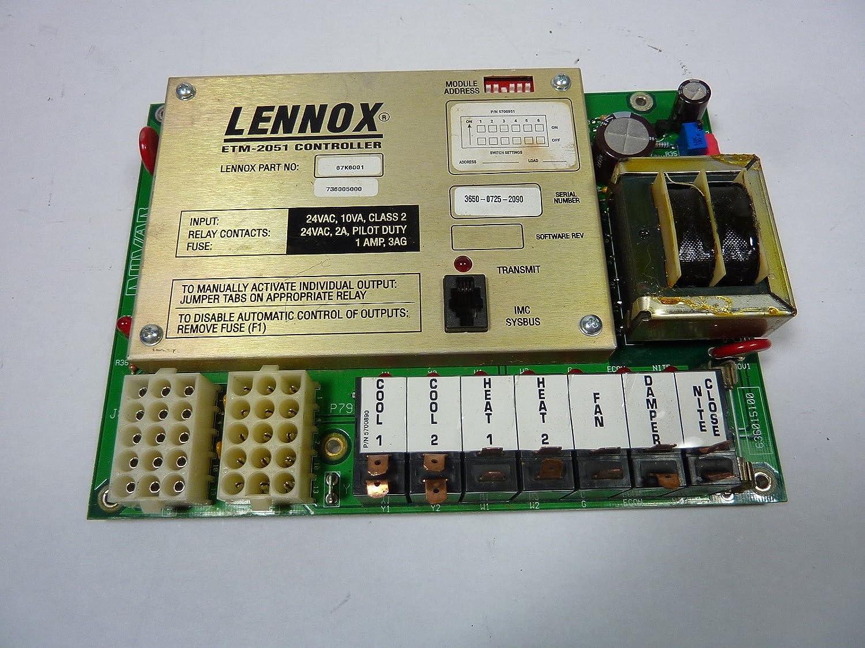Lennox etm-2051 termostato controlador de memoria: Amazon.es: Amazon.es
