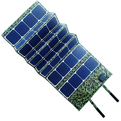 Amazon.com: Ebat 120 W plegable Solar Panel cargador Pack ...