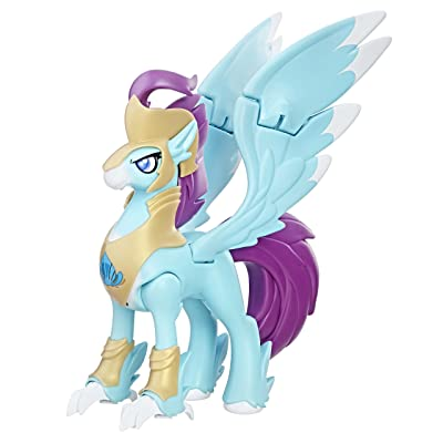 My Little Pony the Movie Stratus Skyranger Hippogriff Guard Figure: Toys & Games