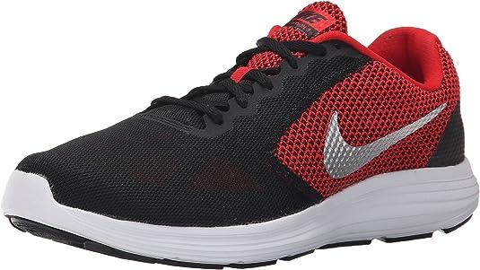 Nike Revolution 3 (4E), Zapatillas de Running para Hombre, Rojo (University Red/Metallic Silver-Black), 40.5 EU: Amazon.es: Zapatos y complementos