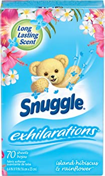 70-Count Snuggle Exhilarations Fabric Conditioner Dryer Sheets
