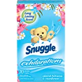 Snuggle Exhilarations Fabric Conditioner Dryer Sheets, Island Hibiscus & Rainflower, 70 Count