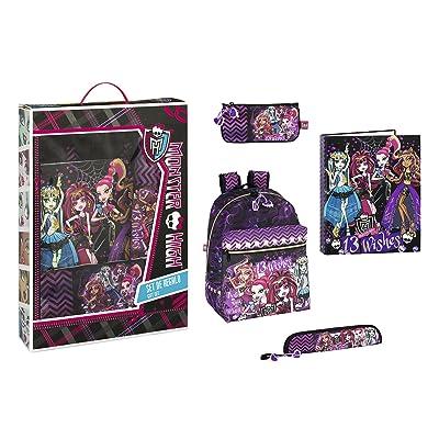 Monster High Set de cadeau d'école (Safta 311366489)