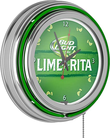 Corona Crown Beer Logo Sign  2 Ring Neon Clock
