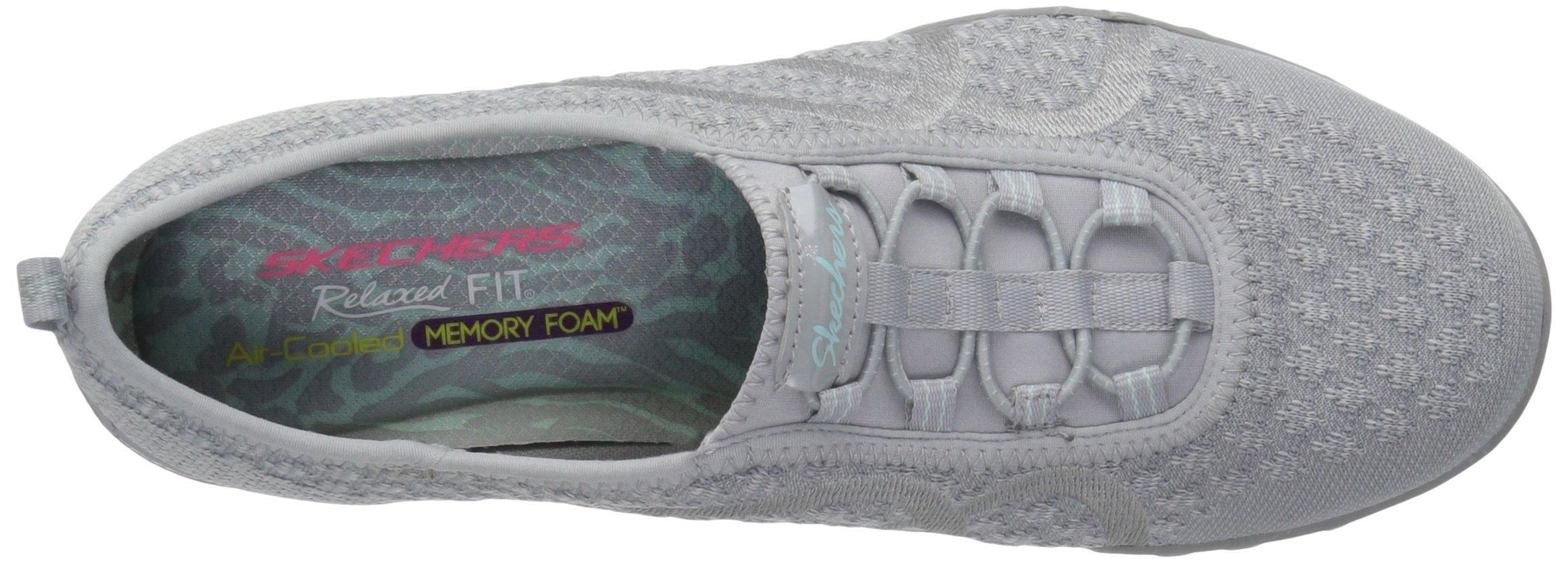 Skechers Sport Women's Breathe Easy Fortune Fashion Sneaker,Grey Knit,5.5 M US by Skechers (Image #8)