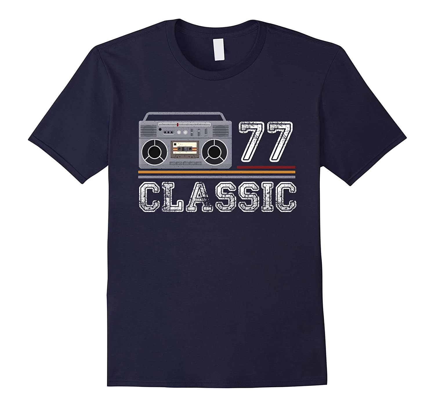 Classic 77 - 40 Years Women & Men | 40 th Birthday Shirt-T-Shirt