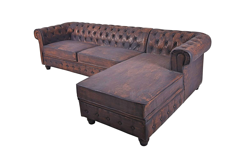 Unbekannt Couch Escobillero sofá Chesterfield Salón Paisaje ...
