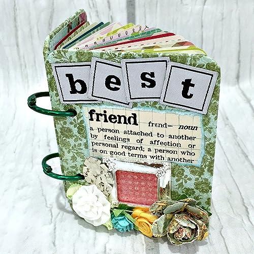 amazon com best friend a z friendship scrapbook photo mini album