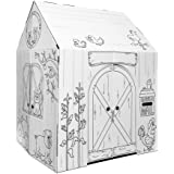 Easy Playhouse Barn - Kids Art & Craft for Indoor & Outdoor Fun, Color Favorite Farm Animals – Decorate & Personalize…