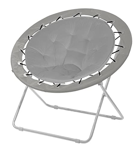 Beau Urban Shop Bungee Chair, Grey