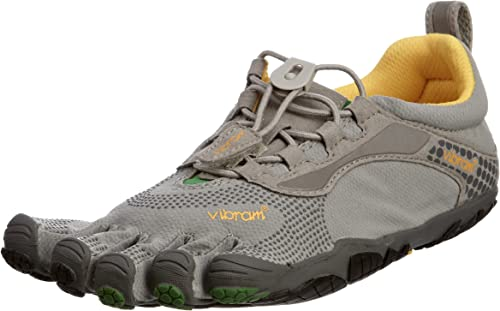 Vibram Five Fingers Bikila LS 5F/LSW355GG-40 - Zapatillas de Fitness de Cuero para Mujer, Color Gris, Talla 40: Amazon.es: Zapatos y complementos