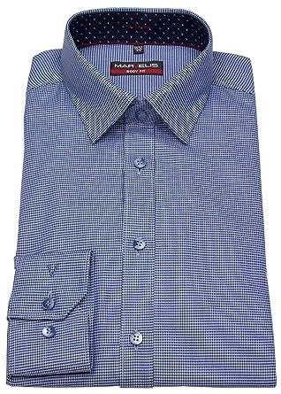 Marvelis - Chemise Business - Col Chemise Classique - Homme - Bleu - Taille  col  41  Amazon.fr  Vêtements et accessoires d0a4e97737f