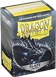 Arcane Tinman Dragon Shield Sleeves: Matte Slate Card Game (100)