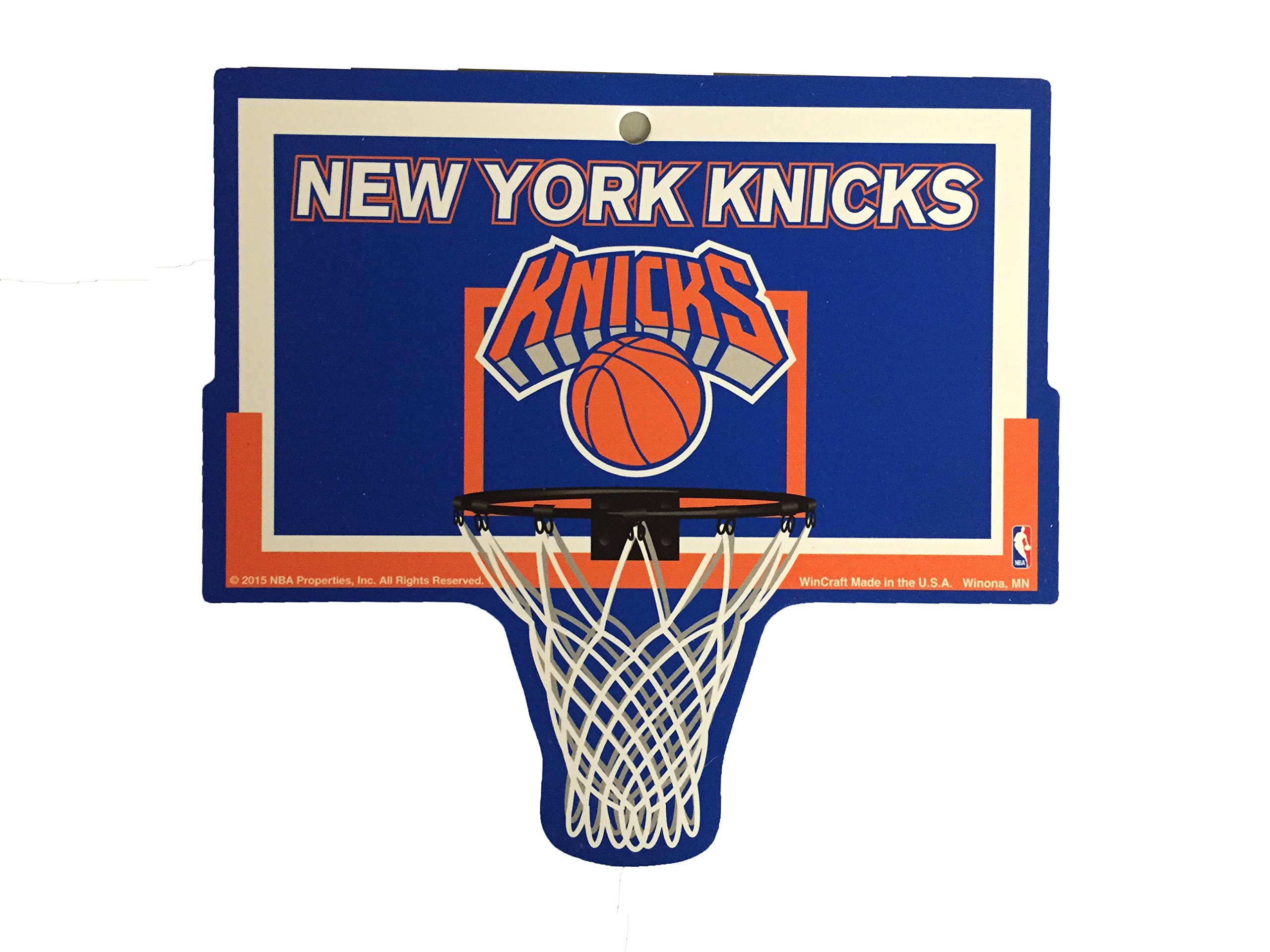 New York Knicks NBA Basketball Hoop Street Sign