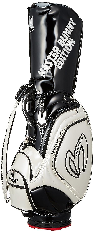 [マスターバニー] キャディバッグ 9.0型 軽量 ( マイティ―バニーシリーズ ) / 158-8980451 / ゴルフ バッグ [ マイティ―バニーシリーズ ] 158-8980451 B07993S2NM030_ホワイト