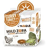 Curry Turkey - Meat and Veggie bars (10-pack) are Paleo Certified, gluten free, and Whole30 Approved. A great travel snack made with free-range, naturally-raised turkey and organic vegetables.