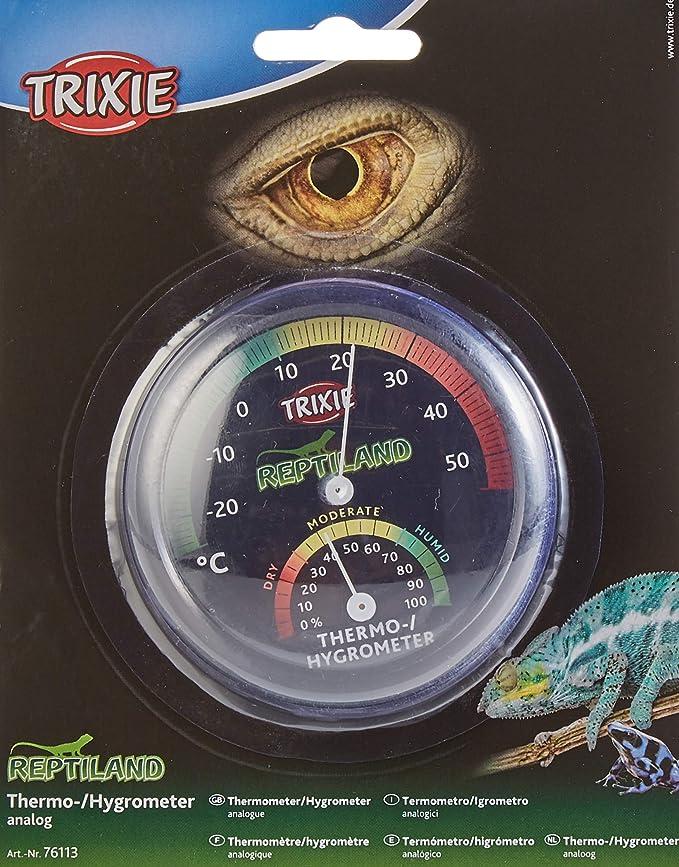 TRIXIE Termo-Higrómetro, Analógico, Reptiles