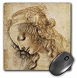 3dRose LLC 8 x 8 x 0.25 Inches Testa Mouse Pad