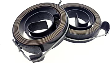 2 Pcs 35mm x 8mm Drill Press Quill Feed Return Coil Spring Assembly,0.7mm Thick,700mm Length.