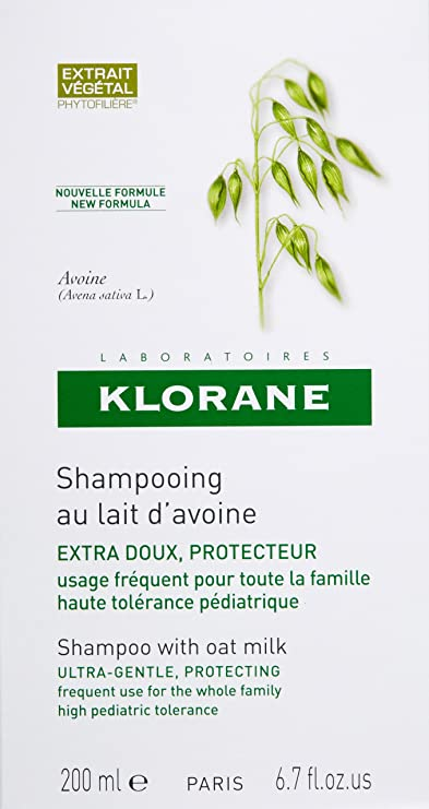 Klorane Champú with Oat Milk - Hair shampoos (Women, non-professional, champú): Amazon.es: Belleza