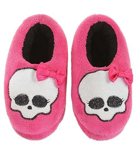 Monster High - Zapatillas de Estar por casa para niña Rosa Rosa: Amazon.es: Zapatos y complementos