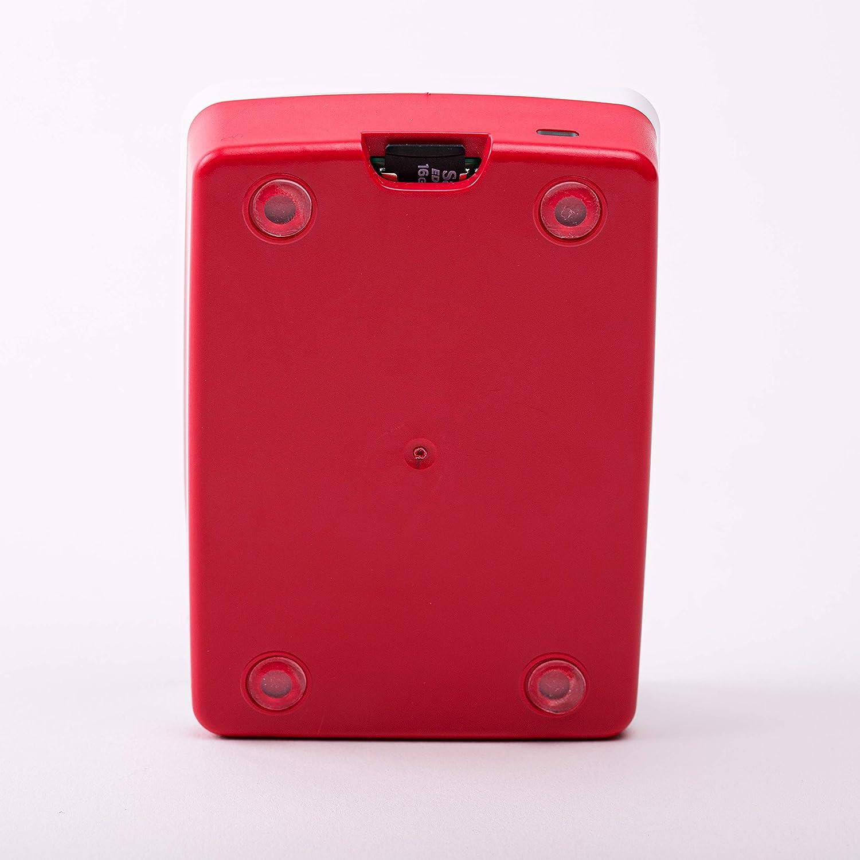 1876751 Raspberry Kiste f/ür offizielles PI 4 rot//wei/ß