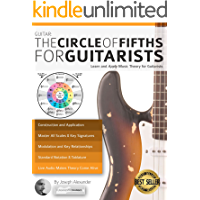 Guitar: The Circle of Fifths for Guitarists: Learn and Apply Music Theory for Guitarists book cover