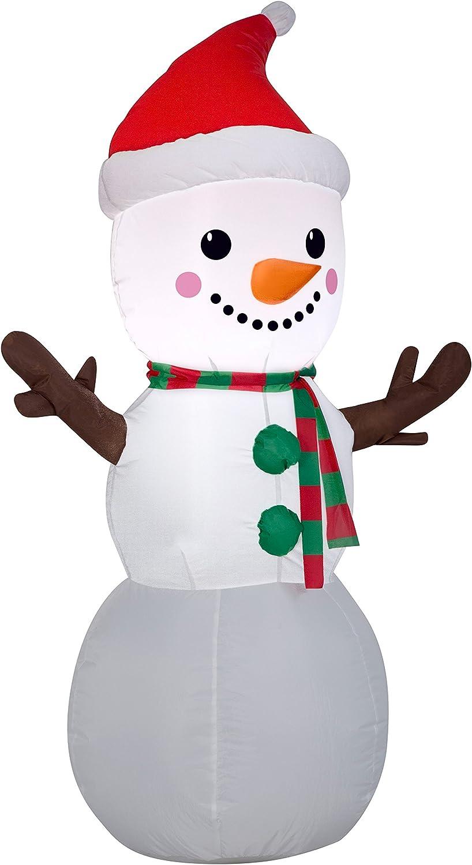 Amazon.com: airblown Blow Up Decoración de Navidad muñeco de ...