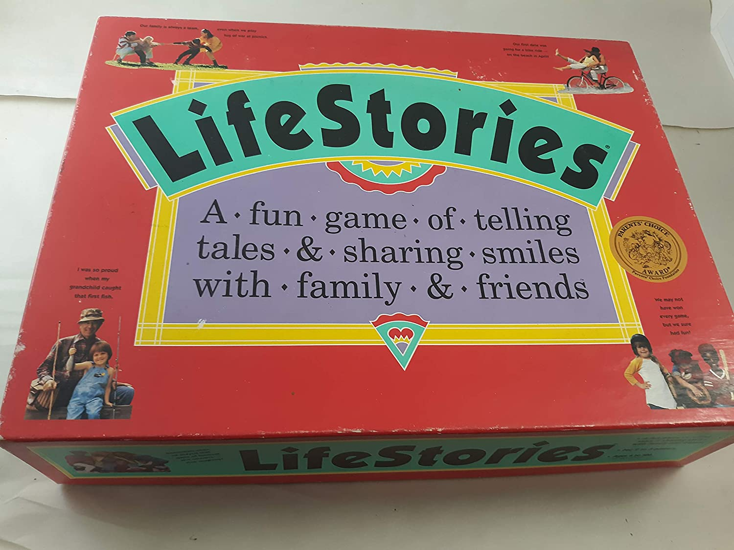 FNDI SG/_B00IBS3F0U/_US 1992 LifeStories; a Fun Game of Telling Tales /& Sharing Smiles with Family /& Friends