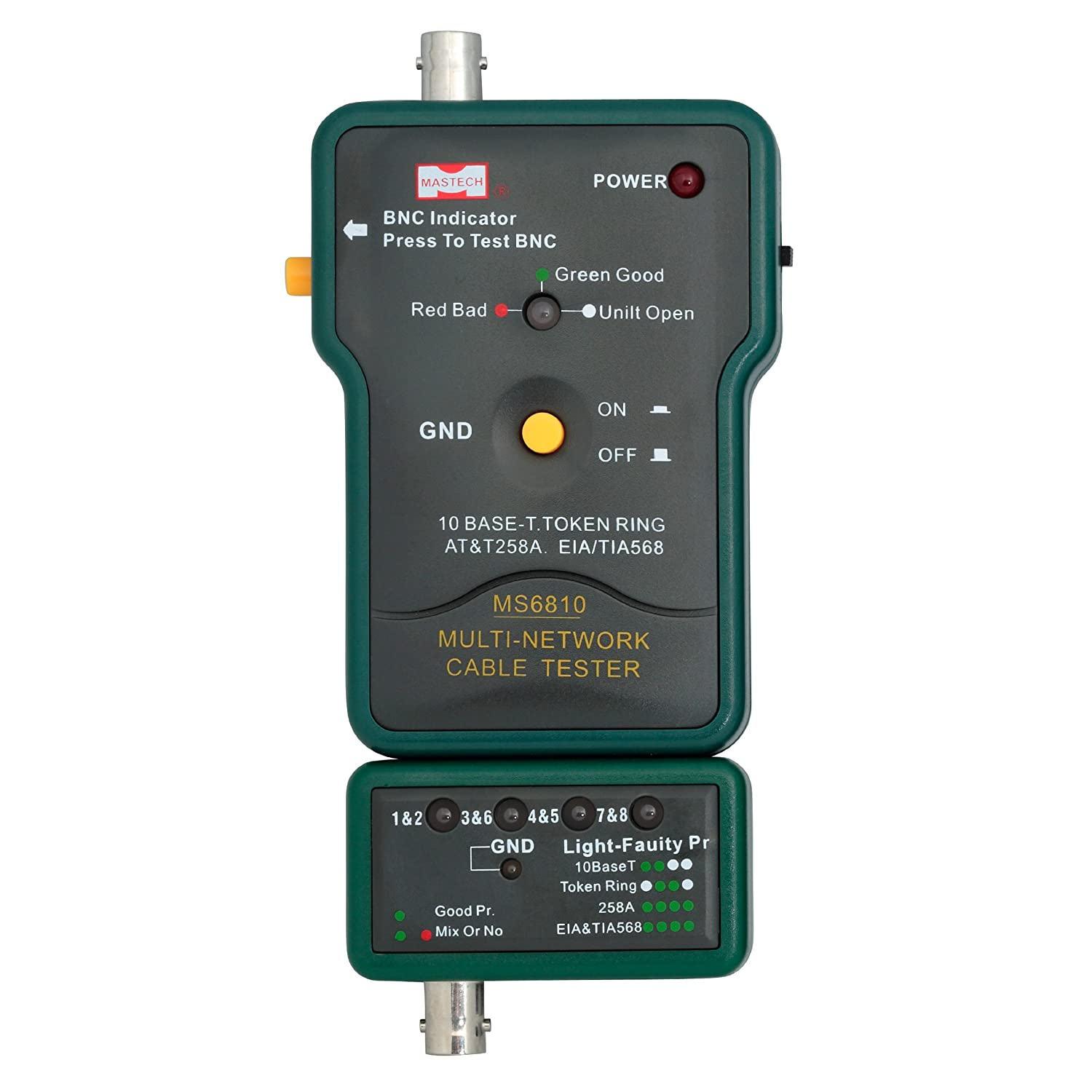 Amazon.com: Mastech MS6810 Multi-network cable tester Detector for ...