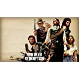 The Most Exciting Game Poster Red Dead Redemption Game Canvas Poster Print 24X36