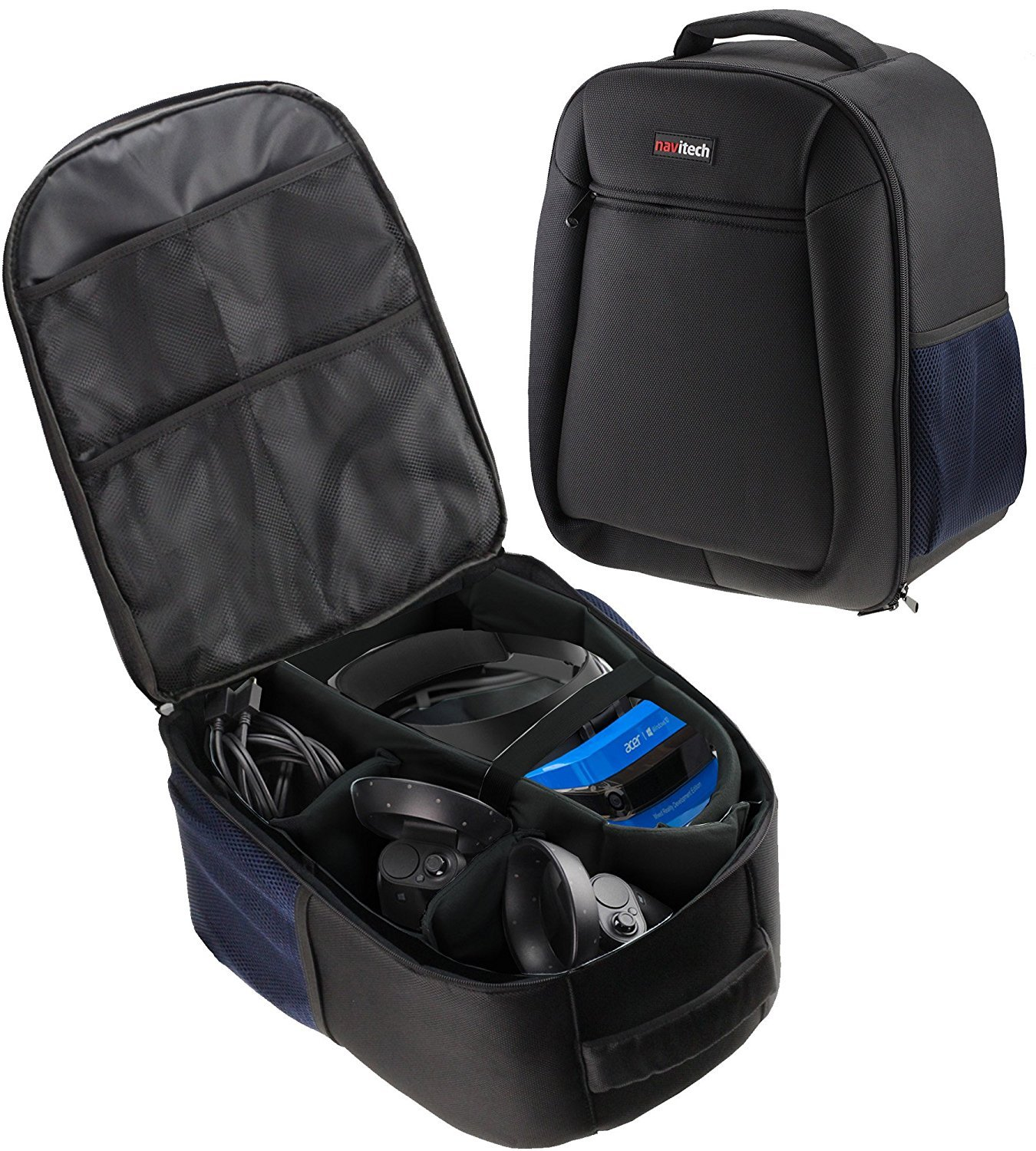 Navitech Rugged Black Carry Backpack//Rucksack//Case Compatible With The LESHP
