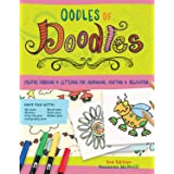 Oodles of Doodles, 2nd Edition: Creative Doodling & Lettering for Journaling, Crafting & Relaxation (Design Originals) Motifs